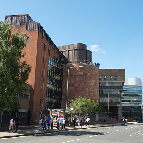 Campus view from Cathedral Street