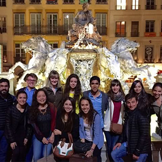 Students in Lyon